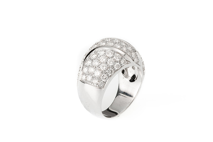 damiani - Damiani anello con diamanti