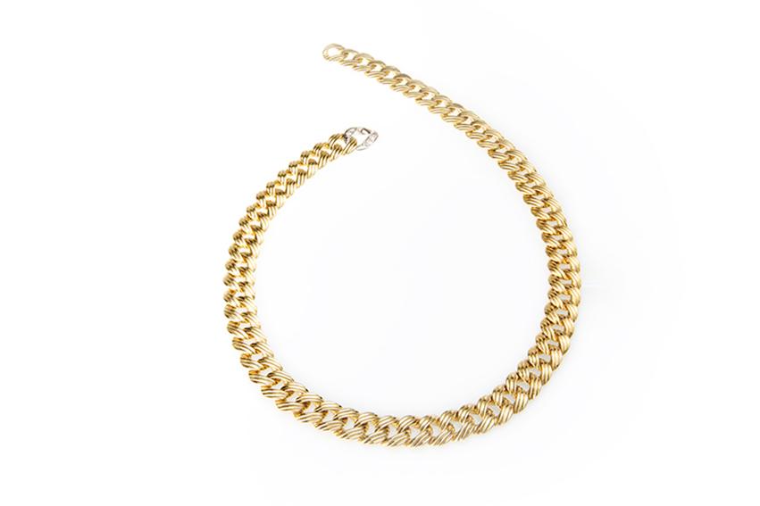 pomellato - Collana in oro giallo e bianco con diamanti