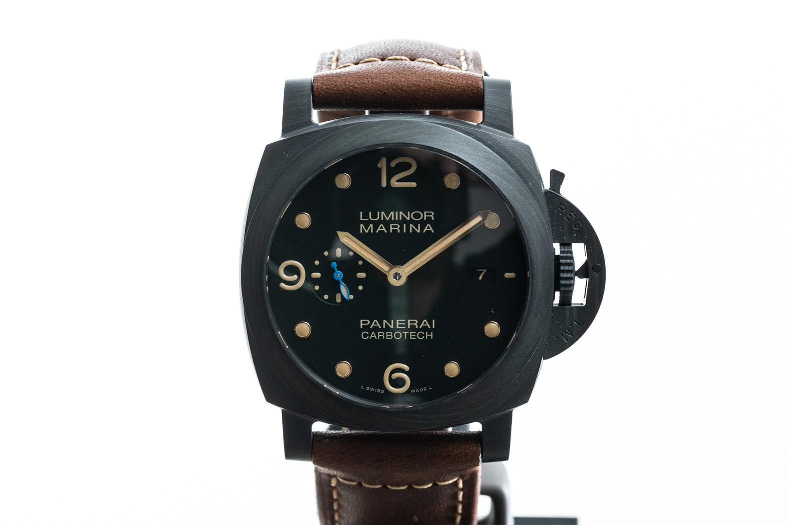 panerai - luminor marina carbotech